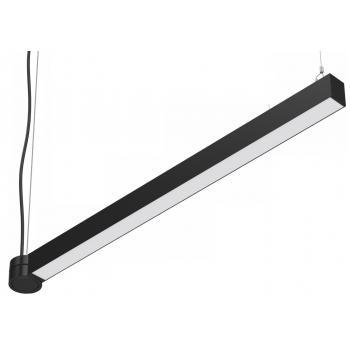Світлодіодний світильник SC-SL8060-040-AW-CW 1259x80x60мм 40W 6000K 3760Lm чорний