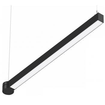 Светодиодный светильник SC-SL8060-050-AW-D01-CW 1559x80x60мм 50W 6000K 4700Lm черный