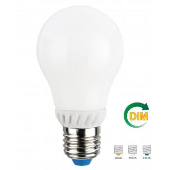 Лампа LED NVC A60GD 7W 3000K E27