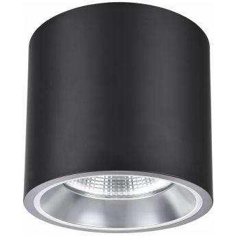 Настенно-потолочные светильники NVC NLED9286HMT 50W 24° 3500K 5500Lm черный 150*185мм
