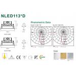 Світлодіодний світильник NVC NLED1138D 9W 3000K