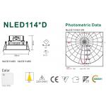 Светодиодный потолочный cветильникNVC NLED1148D 9W 4000K белый