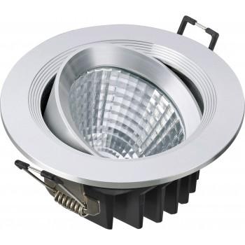 Светодиодный потолочный светильник NVC NLED182D 12W 4000K 24 град. белый перламутр