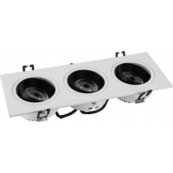 Світлодіодний світильник NVC NLED513 3x6W 4000K
