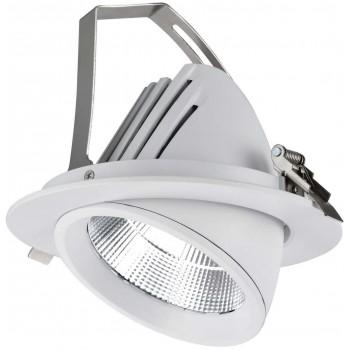Поворотний світильник NLED602 40W 3000K 3325Lm