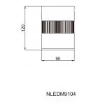 Светильник потолочный NVC NLEDM9104 10W 3000К