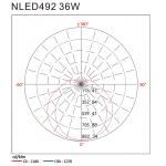 Светодиодный наружный cветильник NLED492 36W 6000K