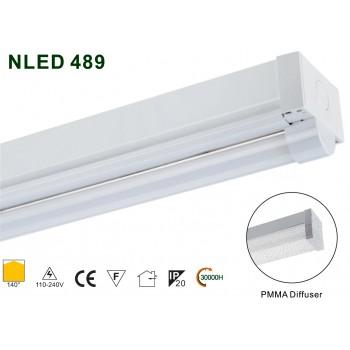 Реечный cветильник NVC NLED489 11W 4000K