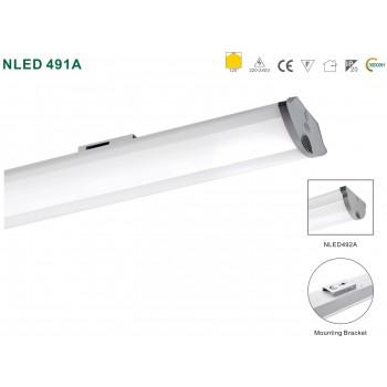 Светодиодный линейный настенно-потолочный светильник NVC NLED491A06 18W 4000K