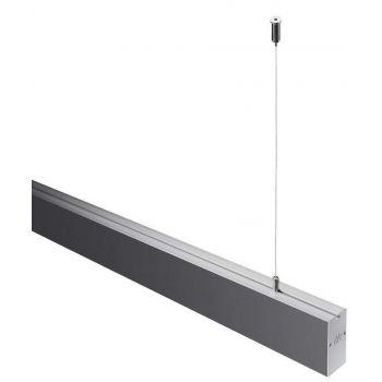Світлодіодний світильник NVC NLILED495AM1200 W30 в алюмінієвому профілі 1200х30х68 мм 18W 4000K 1220Lm