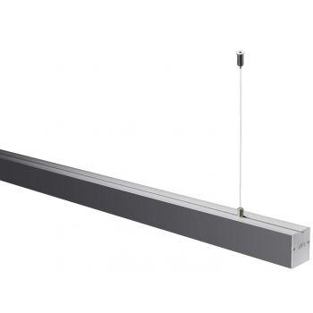 Светодиодный светильник NVC NLILED495AM1200 W80 в алюминиевом профиле 1200х80х68мм 30W 5700K 2500Lm