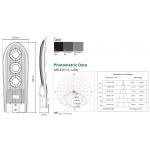 Светодиодный консольный светильник для уличного освещения NRLED712 120W 4500K