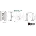 Світлодіодний промисловий прожектор NTLED701A 45W