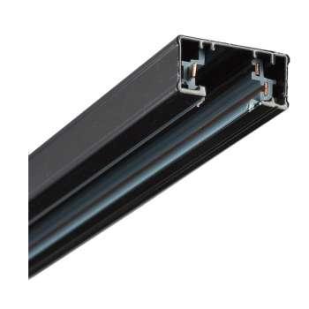 Шина для трековых светильников T3 2M черная