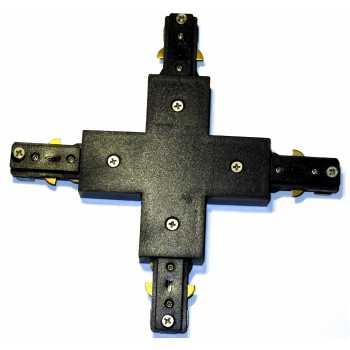 Перехідник хрестовина NVC T3 XJ для шини T3 чорний