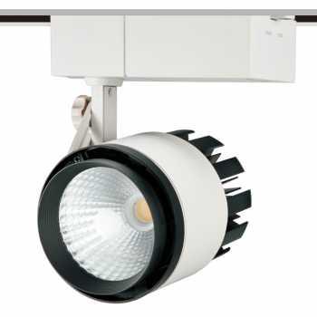 Трековий світлодіодний світильник NVC TLED305A 50W 4000K 24° білий