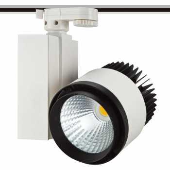 Трековий світлодіодний світильник NVC TLED306 50W 4000K 24°