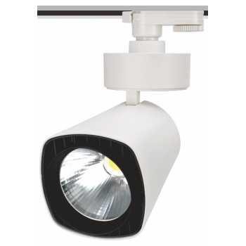 Трековый светодиодный светильник NVC TLED319N 50W 4000K 40° CRI>90 белый